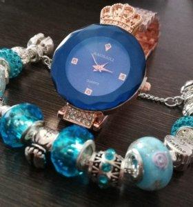 Женские часы BAOSAILI+ браслет в подарок