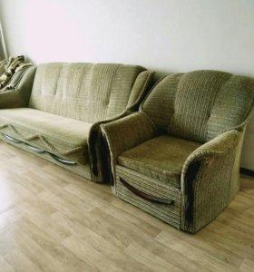 Набор мягкой мебели почти даром!!!! Тейково!