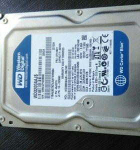 Жесткий диск 320GB.