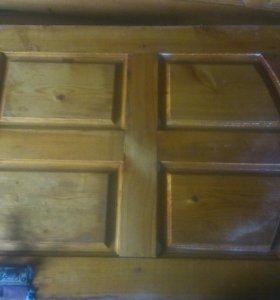 Двери. Деревяные входные межкомнатные б/у