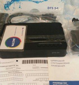 DTS 54 цифровой спутниковый приёмник