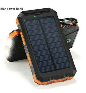 Power-bank на солнечных батареях 25000mAh АКЦИЯ!!!