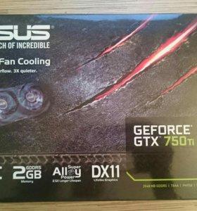 Видеокарта Asus GTX 750 ti 2 Gb