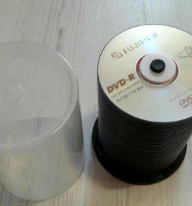 ДВД новые болванки 50 штук