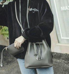 Набор из сумки и кошелька