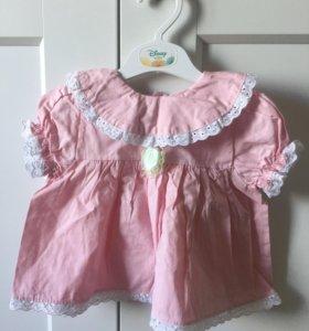 Крестильный костюм для девочки