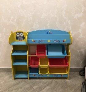 Детский уголок для игрушек