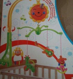 Мобиль для детской кровати