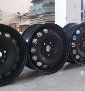 диски штампованные R16 VW jetta, golf, skoda
