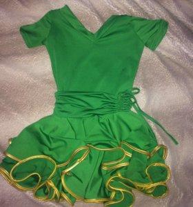 Платье танцевальное, рост 116-128