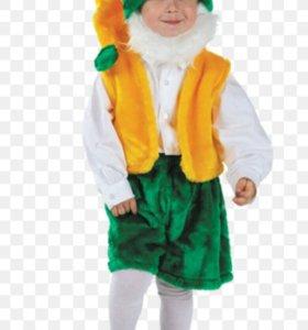 Детский карнавальный костюм Гном