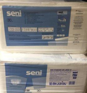 Подгузники для взрослых Seni. Размер L