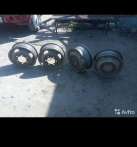 Срочно продам заводские диски на газель
