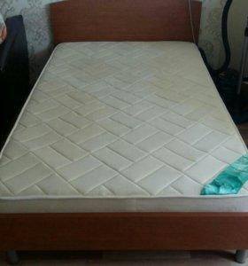Кровать с матрасом 120×200