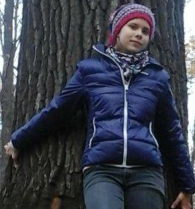 Куртка-пуховик женская демисезонная WEDZE