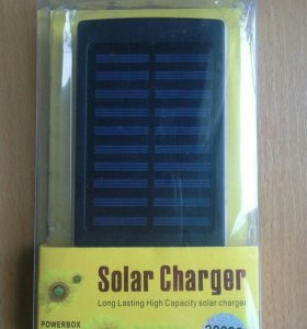 Solar Power Bank 20000 mAh