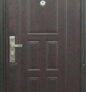Дверь бу кнр метал