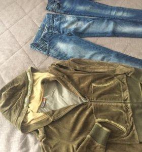 Костюм+2 джинс, размер xs/s