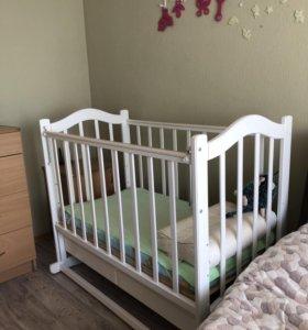 Кроватка детская - качалка