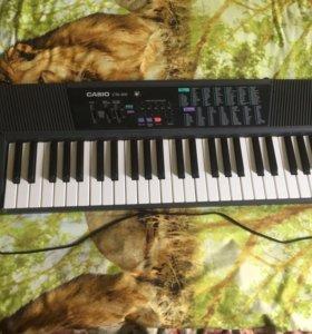 Электронный синтезатор CASIO CTK-100🎶