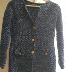 Пиджак в стиле Шанель вязанный