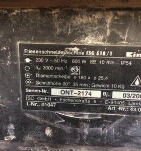 Электрический плиткорез