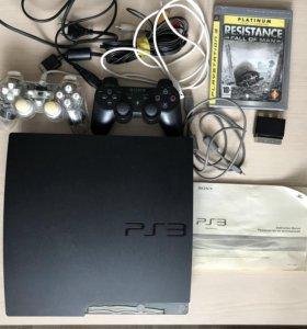 Sony PlayStation3 Slim 250Gb (черный)