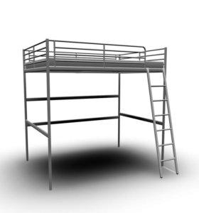 Кровать-чердак двуспальная ИКЕА
