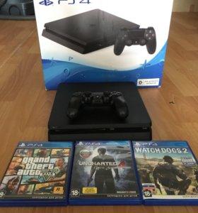 PlayStation 4 slim 1TB+ Игры