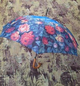 Зонт-трость женский. Талнах.