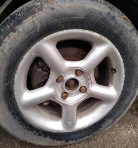 диски для форд с резиной