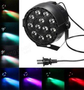 Диско DJ проектор LED- Портативный Мини