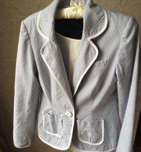 Пиджак хлопок стильный 42-44