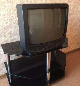 Столик + телевизор