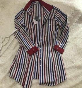 Платье рубашка 48 -50р