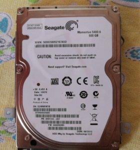 Ж.диск для ноутбука