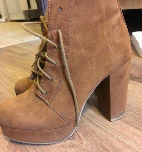 Ботинки осенние + зимние сапоги