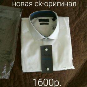 Новая calvin klein мужская рубашка сорочка