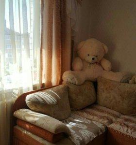 Квартира, 1 комната, 40.1 м²