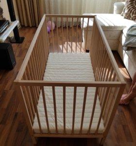 Детская Кроватка IKEA