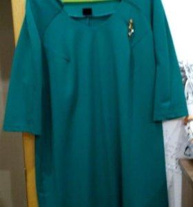 Теплое платье для будущей мамы