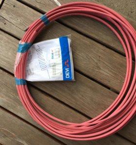 Саморегулируемый греющий кабель  DEVI