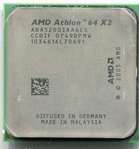 AMD Athlon 64 X2 5200+ AM2