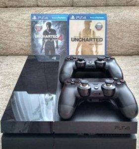 Sony PlayStation 4 + Dualshock 4 Scuf MOD