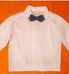 Рубаха с бабочкой д/мальчика