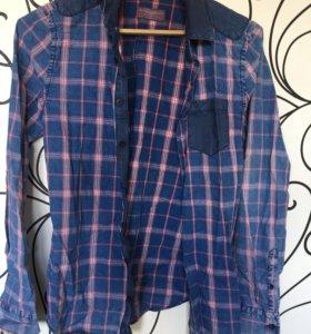 Рубашка мужская PULL & BEAR 38 M