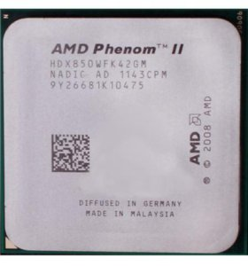 Процессор AMD Phenom II X4 850 + кулер