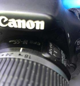 Canon 600D + kit 18-55