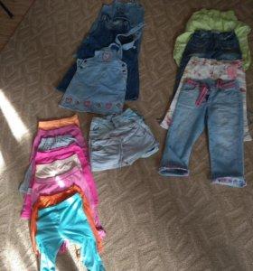 Пакет вещей на девочку 5-7 лет