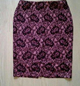 Фирменная юбка карандаш